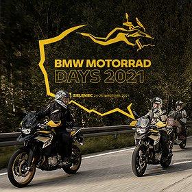 24-26 września – Ogólnopolski zlot BMW Motorrad Days 2021.
